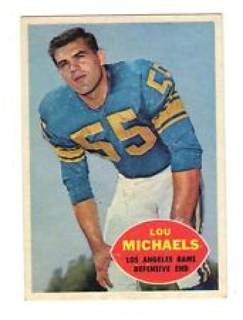 1960 Topps #69 Lou Michaels Excellent-Near Mint [Misc.]