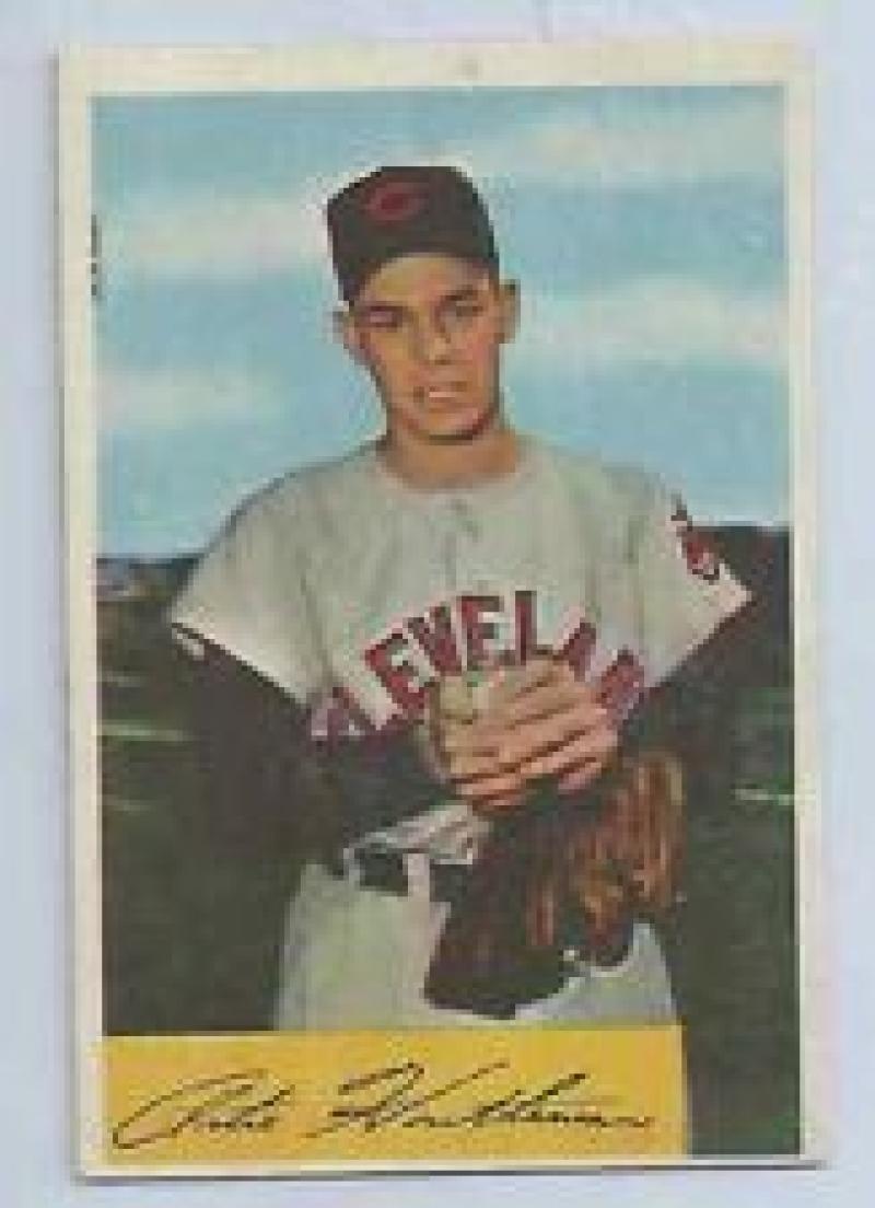 1954 Bowman #20 Art Houtteman Indians