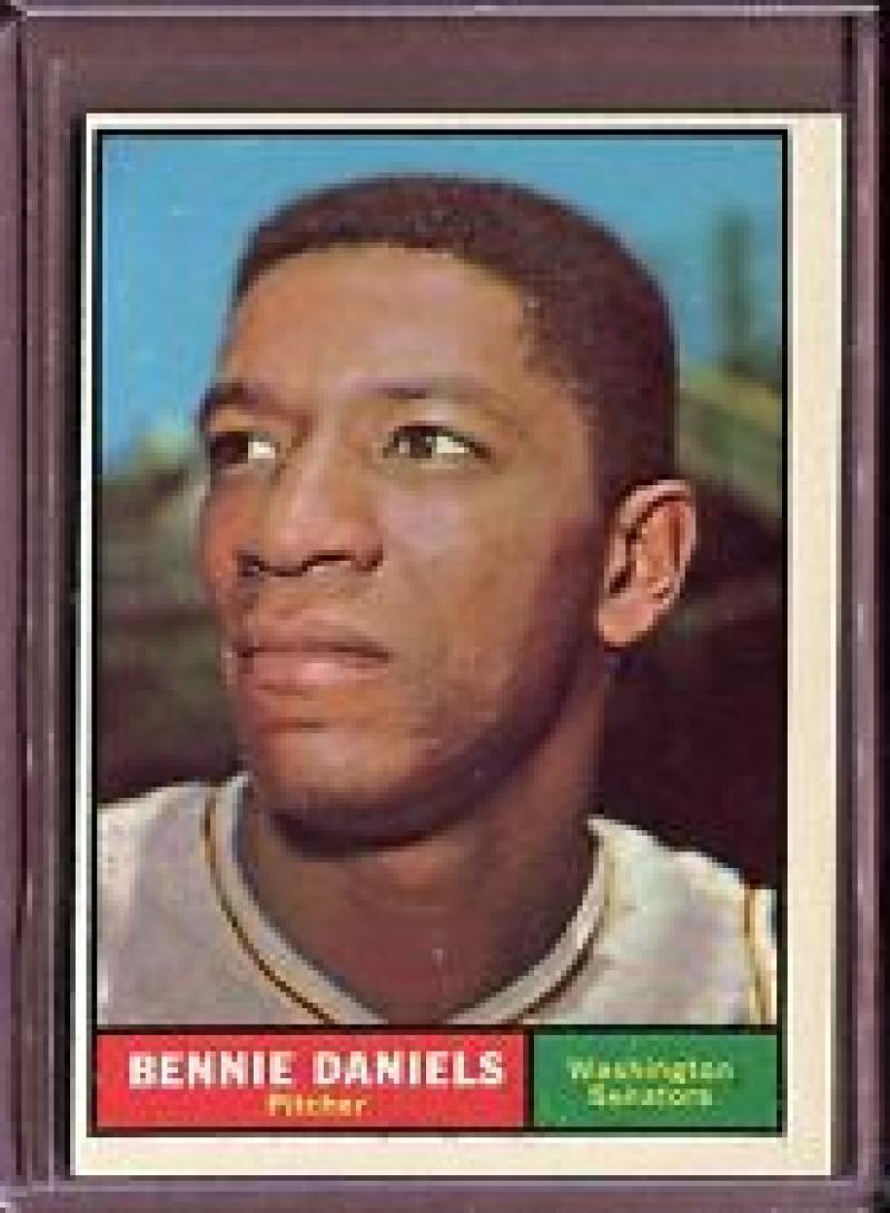 1961 Topps #368 Bennie Daniels - Excellent +