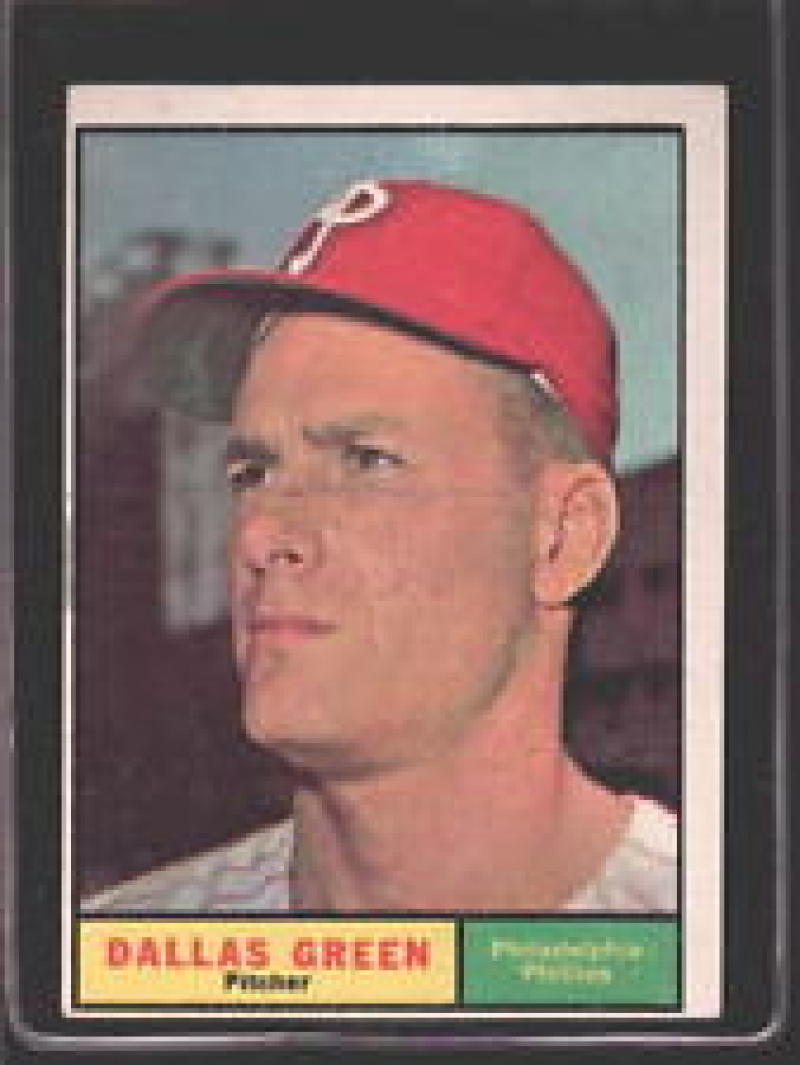 1961 Topps #359 Dallas Green EX