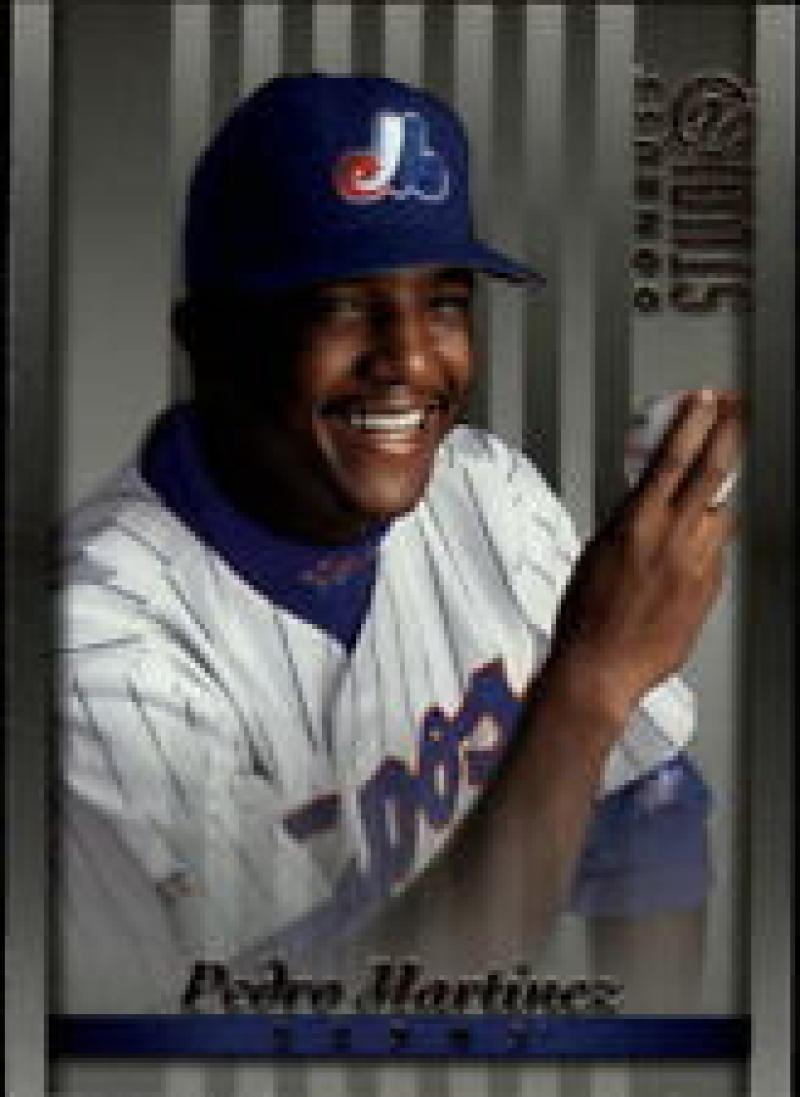 Bases Loaded Baseball Cards Item 337683 Pedro Martinez