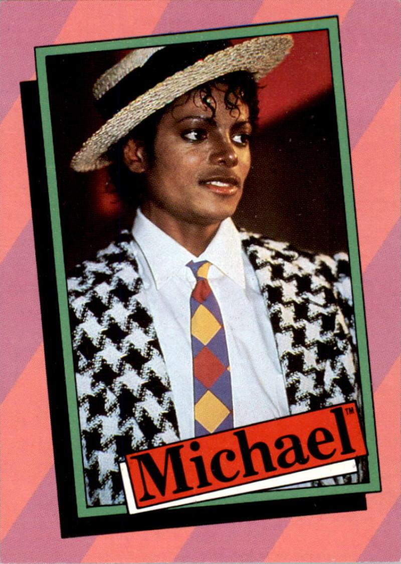 Bases Loaded Baseball Cards Item 343035 Michael Jackson