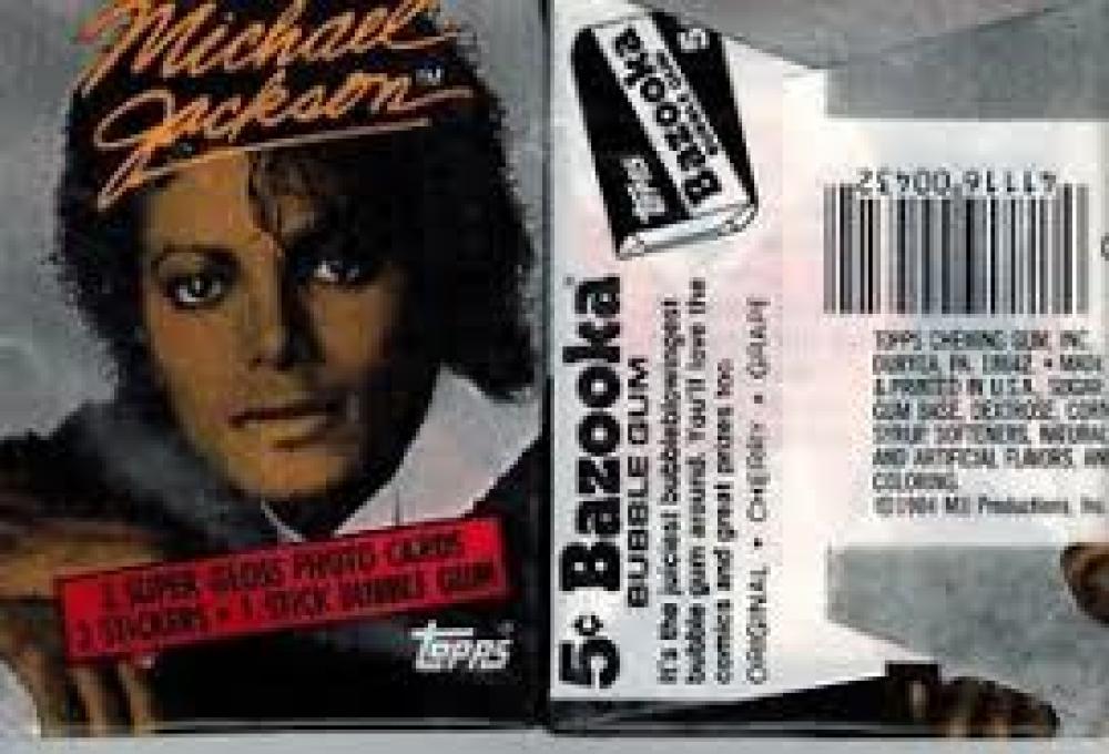 Bases Loaded Baseball Cards Item 342985 Michael Jackson