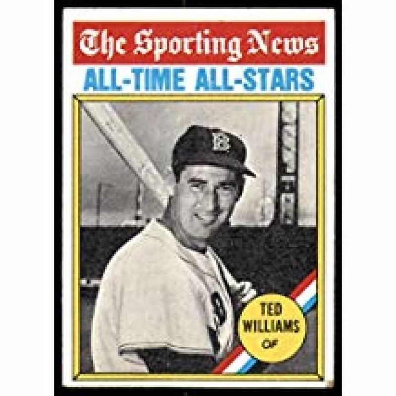 1976 Topps #347 Ted Williams All Time Greats Boston Red Sox