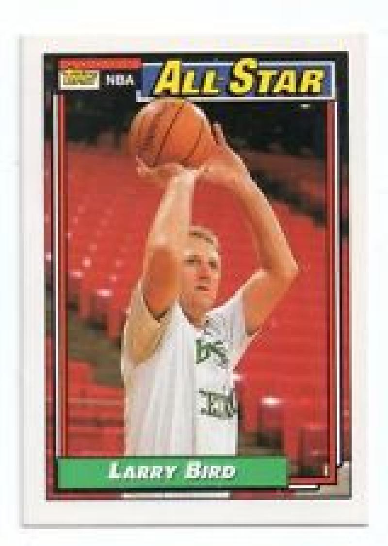 1992/1993 Topps #100 Larry Bird Boston Celtics Basketball Card
