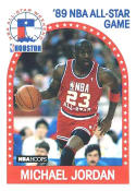 Michael Jordan 1989-90 Hoops All-Star Basketball Card #21