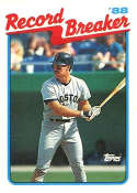 1989 Topps #2 Wade Boggs RB NM