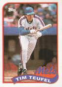 1989 Topps #9 Tim Teufel NM