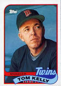 1989 Topps #14 Tom Kelly MG NM