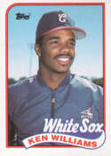 1989 Topps #34 Kenny Williams NM