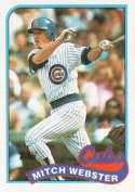 1989 Topps #36 Mitch Webster NM
