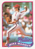 1989 Topps #39 Mike Maddux NM