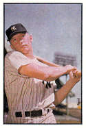 1989 Bowman Reprint Inserts #6 Mickey Mantle 1953 NM