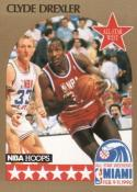 1990-91 Hoops #16 Clyde Drexler NM-MT AS SP