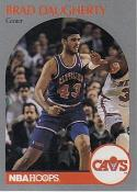 1990-91 Hoops #73 Brad Daugherty NM-MT