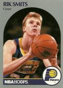 1990-91 Hoops #139 Rik Smits NM-MT