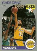 1990-91 Hoops #154 Vlade Divac NM-MT RC Rookie