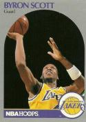1990-91 Hoops #159 Byron Scott NM-MT