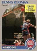 1990-91 Hoops #109 Dennis Rodman NM-MT