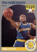 1990-91 Hoops #113 Tim Hardaway NM-MT RC Rookie