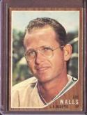 1962 Topps   #129a Lee Walls VG/EX 65/35