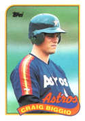 Craig Biggio 1989 Topps Rookie Baseball Card #49
