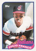 1989 Topps #55 Julio Franco NM