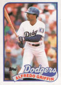 1989 Topps #62 Alfredo Griffin NM