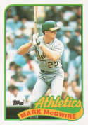 1989 Topps #70 Mark McGwire NM