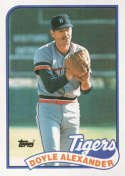 1989 Topps #77 Doyle Alexander NM