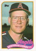 1989 Topps #99 Sherman Corbett NM RC Rookie