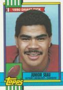 Junior Seau 1990 Topps Football Rookie Card #381