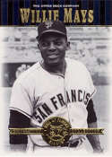 2001 Upper Deck Hall of Famers #19 Willie Mays NM