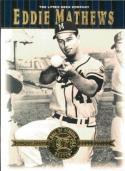 2001 Upper Deck Hall of Famers #3 Eddie Mathews NM