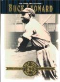 2001 Upper Deck Hall of Famers #21 Buck Leonard NM