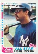 1982 Topps #551 Reggie Jackson NM-MT AS
