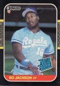 1987 Donruss   #35 Bo Jackson NM-MT  RC