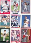 100 Assorted Boston Red Sox Baseball Cards