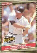 1986 Donruss Highlights #11 Wade Boggs NM-MT