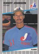 1989 Fleer #381 Randy Johnson NM-MT RC Rookie