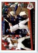 2009 Topps Baseball #147 Ryan Howard / David Wright / Adrian Gonzalez Philadelphia Phillies / New York Mets / San Diego Pa - Shipped In Protective Scr