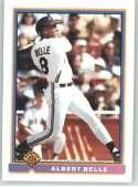 1991 Bowman #81 Joey/Albert Belle Cleveland Indians Baseball Card