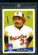 2008 Upper Deck Goudey #18 Eddie Murray - Orioles - MLB Baseball Trading Card in a Protective Screw Down Display Case