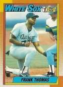 1990 Topps Frank Thomas Rookie Baseball Card #414
