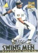 1995 Pinnacle #302 Frank Thomas Chicago White Sox Baseball Card