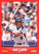 1988 Score #325 Gary Carter - New York Mets (Baseball Cards)