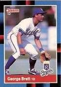 1988 Donruss #102 George Brett Royals