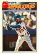 1990 Kmart #3 Howard Johnson Superstars Baseball Card