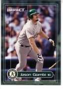 2000 Impact #186 Jason Giambi Baseball Cards