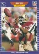 1989 Pro Set #383 Jerry Rice - 49ers